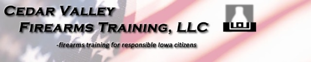 Cedar Valley Firearms Training
